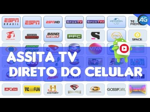 Como ter TV Fechada e Aberta Futebol ao Vivo, Programas, etc.. No Android GRATÍS  Atualizado 2017