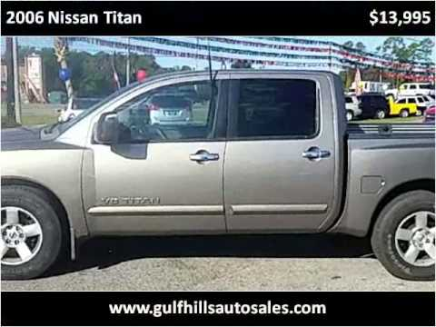 2006 Nissan Titan Used Cars Ocean Springs MS