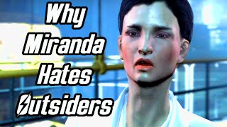 Fallout 4 - Why Miranda from Vault 81 hates outsiders