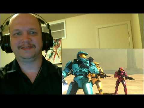 Blind Reaction:Red vs. Blue Season 8,...