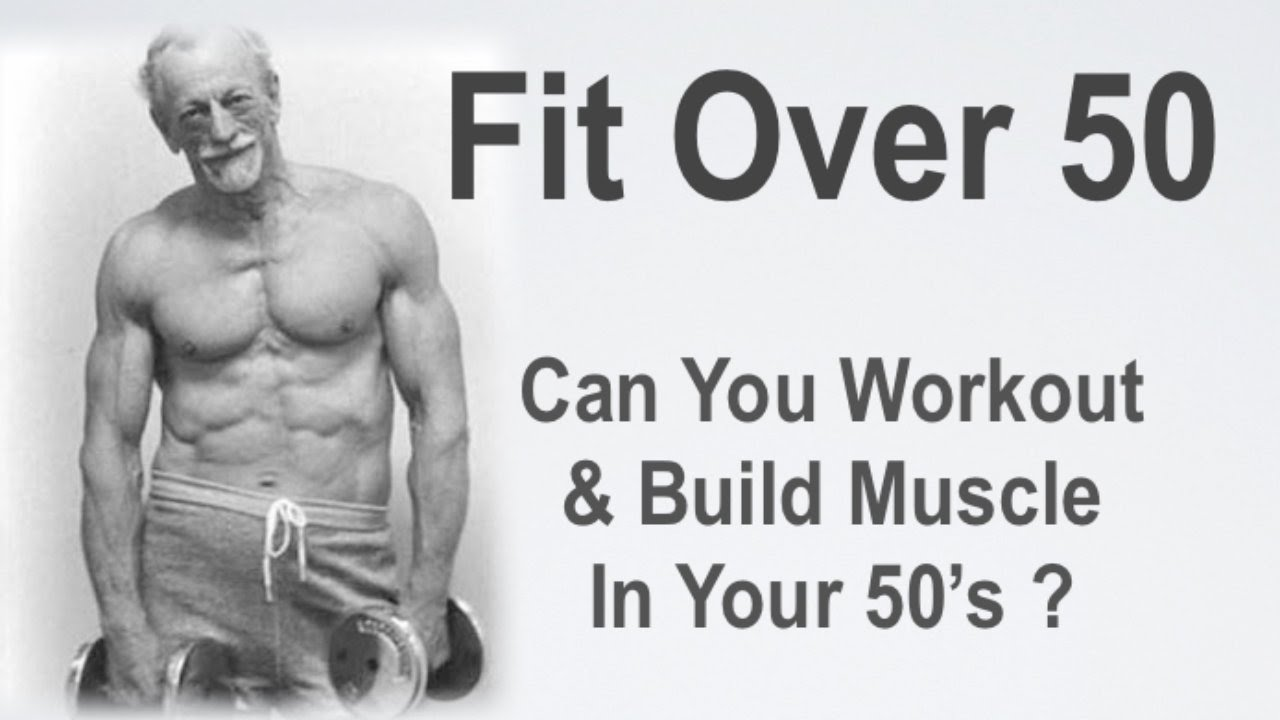 Getting fit at 50 men