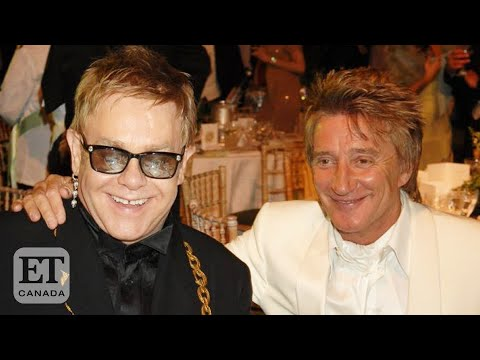 Rod Stewart On Feud With Elton John Over 'Money-Grabbing' Farewell Tour