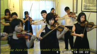 Por Una Cabeza ( Scent of a Woman & True Lies tango ) performed by Malaysian young violinists