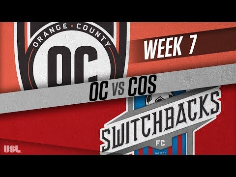 Orange County SC vs Colorado Springs Switchbacks FC: April 28, 2018