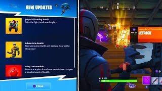 *NEW* JETPACK LEAKED EARLY GAMEPLAY in Fortnite! - Fortnite Battle Royale Jetpack Update CONFIRMED
