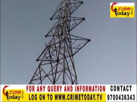 CRIME TODAY SOLVED AN ISSUE ZAHEERABAD (HI_TENSION TOWER)