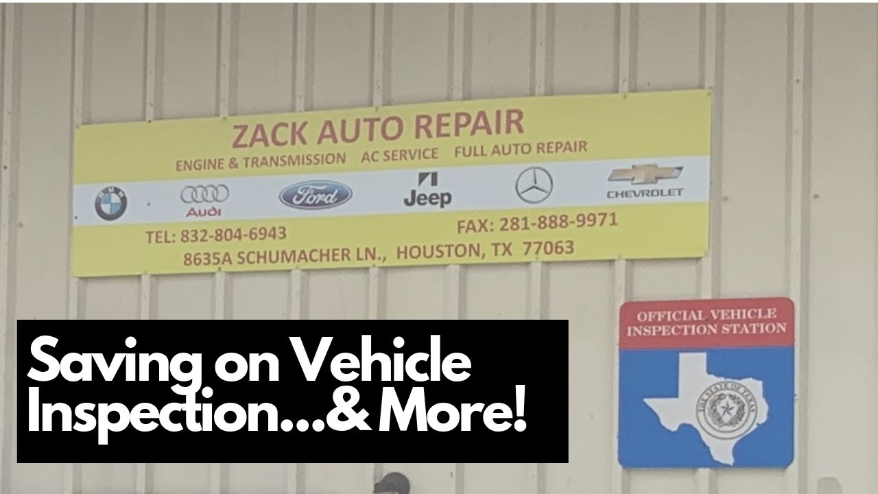 Texas Car Inspection >> How To Save On Your Vehicle Inspection In Texas