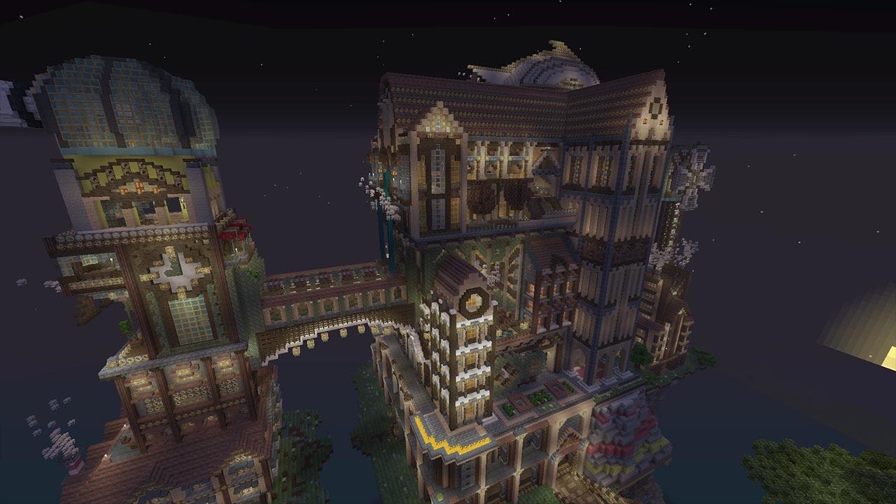 Minecraft XBOX - Murder Mystery - SteamPunk City - YouTube