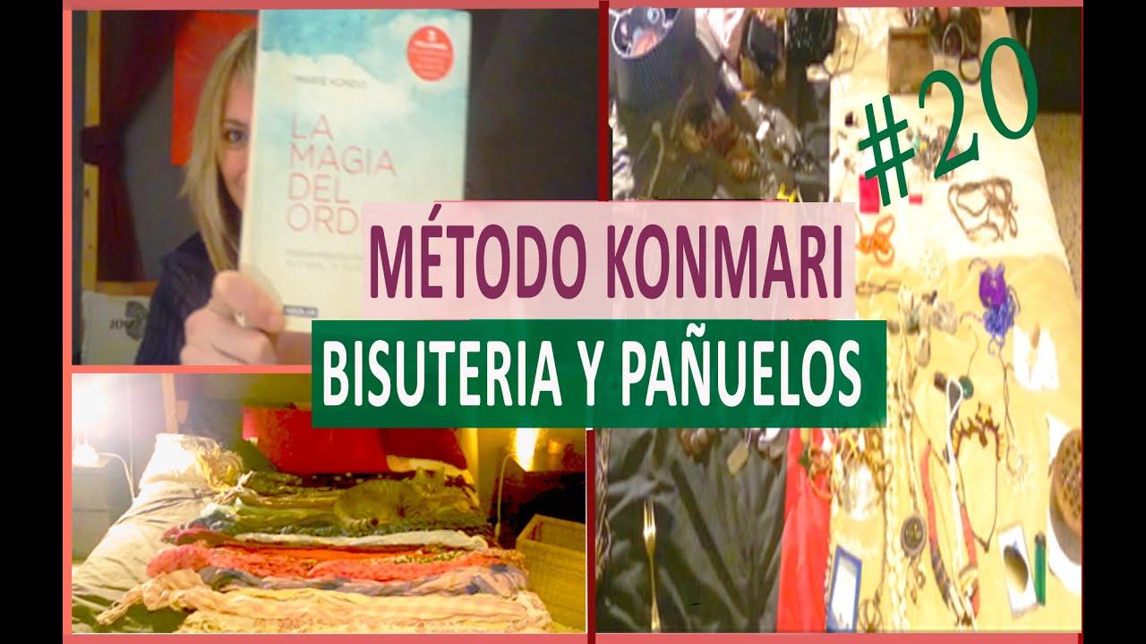 Mtodo de Marie Kondo Bisutera y pauelos 20  YouTube