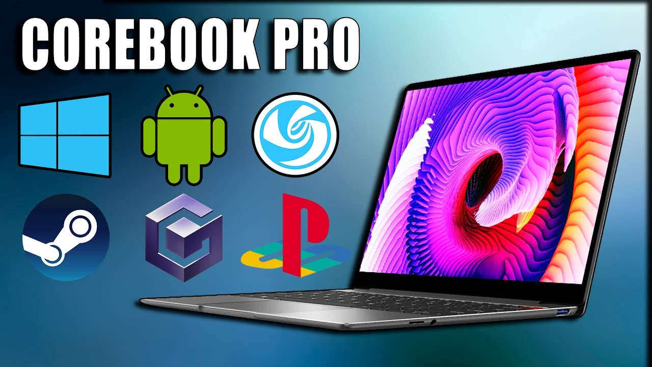 Corebook Pro Review - PS2/GC/Steam/Linux/Win/Android