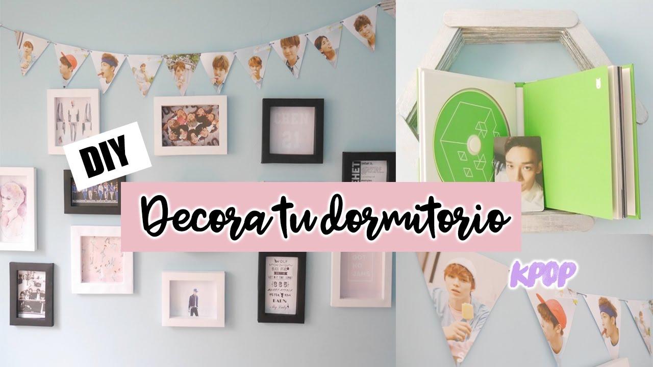 Diy k pop decora tu habitaci n con seventeen shinee for Dormitorio kpop