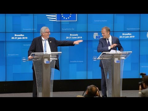 Full Tusk & Juncker Press Conference - 20 June 2019 EU Council Summit