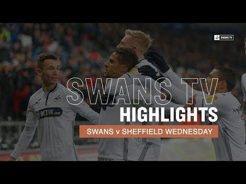 Highlights: Swans 2-1 Sheffield Wednesday