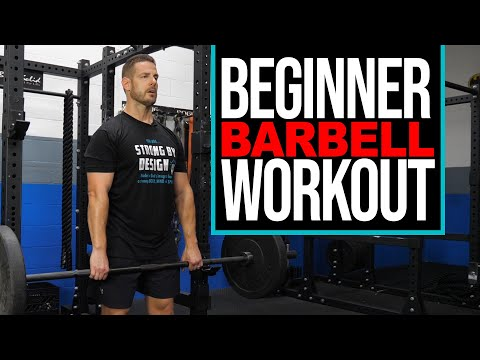 BARBELL WORKOUT ��️‍♂️ for Beginners | 13 Essential Exercises for Total Body Training