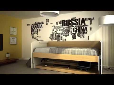 hidden bed furniture. space saving furniture hiddenbed ritzy hidden bed