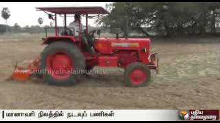 Sowing in full swing in Vedaranyam area expecting rains