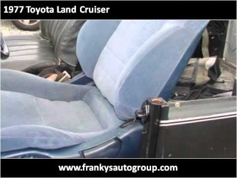 1977 Toyota Land Cruiser Used Cars Escondidio CA