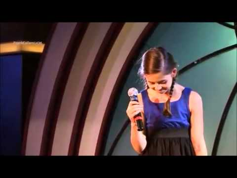 Carly Rose Sonenclar Singing at Age 11