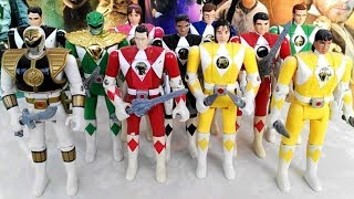 EPIC Vintage Mighty Morphin Power Rangers Action Figure Retrospective! (Part 1: Automorph Figures)