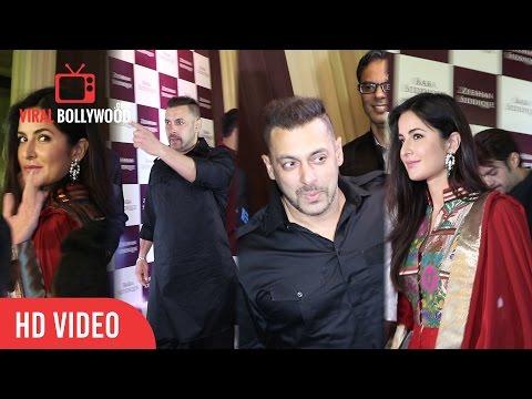 Salman Khan And Katrina Kaif At baba siddique iftar party 2016 | Viralbollywood.com
