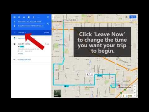 Tulsa Transit Trip Planner   Desktop