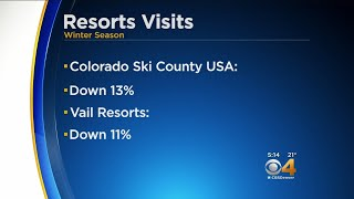 Ski Area Visits Down Due To Lack Of Snow