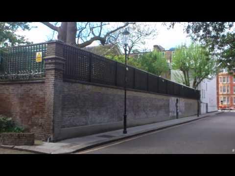 Garden Lodge, Logan Place 1, Royal Borough of Kensington and Chelsea, London, England - May 6th 2015