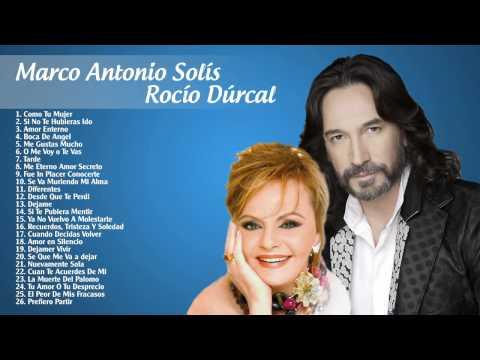 Rocío Dúrcal y Marco Antonio Solís sus Mejores Éxitos  - Grandes exitos-2017