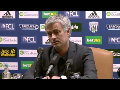 Jose Mourinho & Tony Pulis post match reaction after West Brom 3 - Chelsea 0