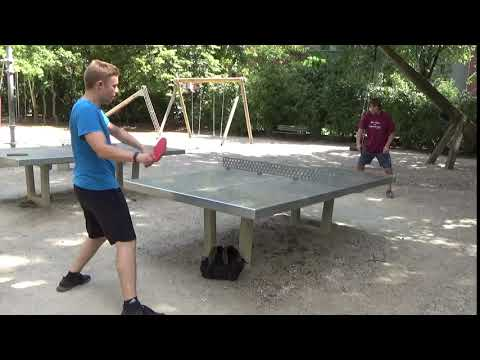 Tischtennis An Der Frauenschule Fuerth  Mit Den Steinb     An Der Steinplatte 20190619  21