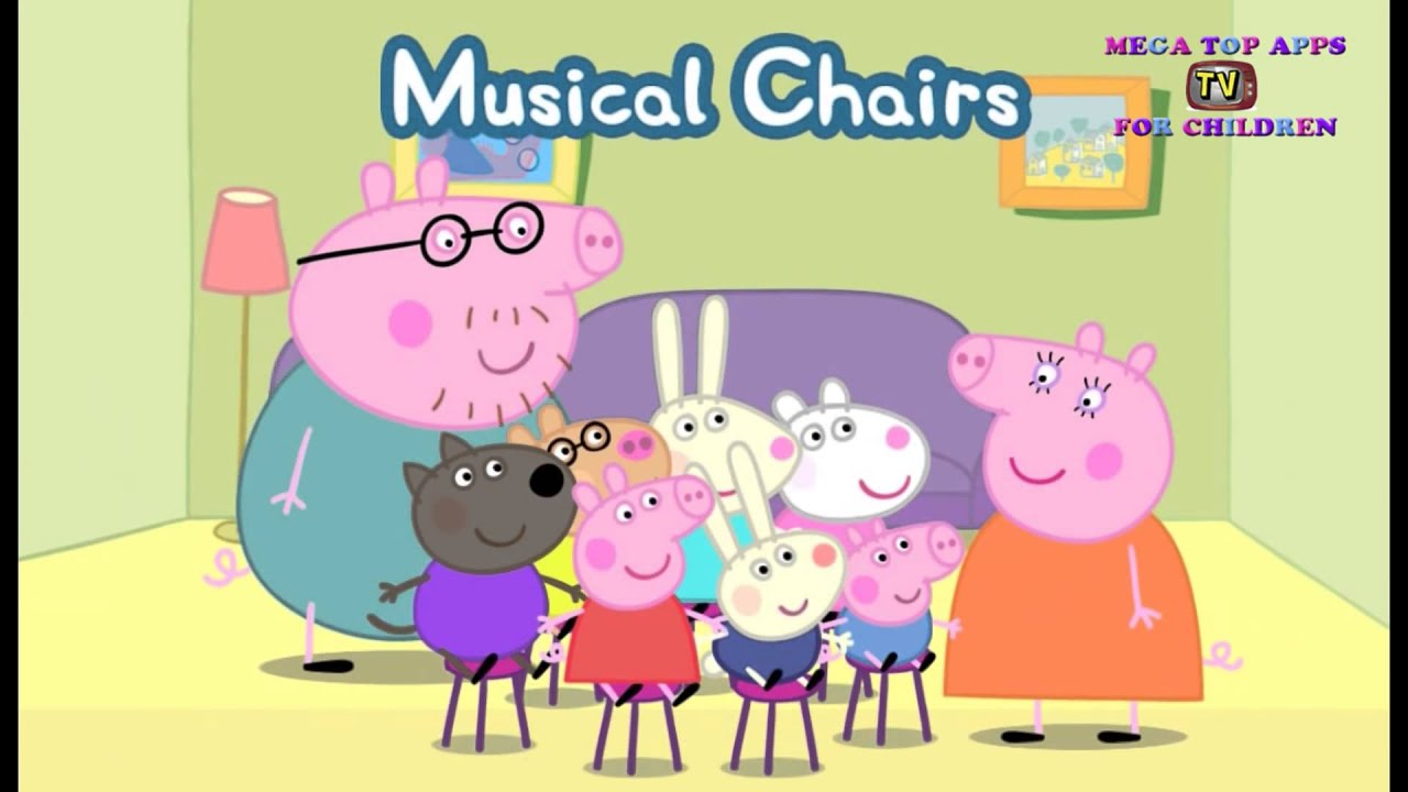 Peppa Pig s Party Time – Musical Chairs Peppa Pig s Birthday Best