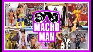 MACHO MAN RANDY SAVAGE - Every WWE Mattel Action Figure
