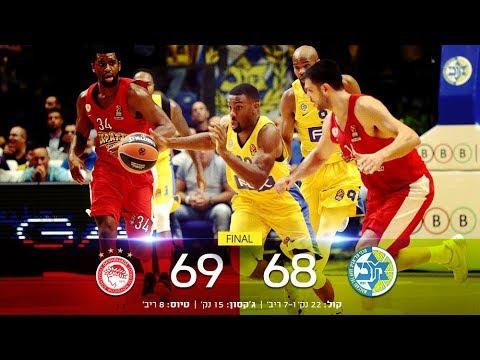 Euroleague Game 3: Maccabi FOX Tel Aviv 68 - Olympiacos B.C 69