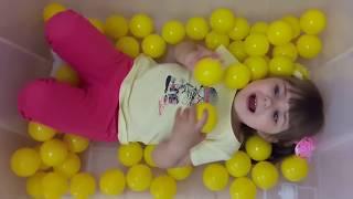 Сборник 7 минут Learn colors with funny girls Учим цвета Nursery Rhyme Songs  for kids