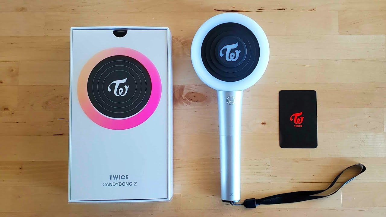 TWICE (트와이스) New Lightstick CANDYBONG Z Unboxing
