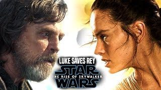 The Rise Of Skywalker Luke Saves Rey! Leaked Details (Star Wars Episode 9)