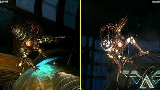 Bioshock 2 E3 2009 Demo vs Retail Xbox 360 Graphics Comparison