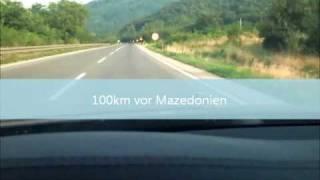 Fahrt in die Türkei 2010 live, so sieht es aus 2492 km 8 Länder.Izin yolu 2010 Ipsala Sila