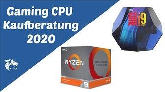 Beste CPU 2020: Kaufberatung für Gaming Prozessoren & Workstations (ALLE BUDGETS - AMD + Intel)