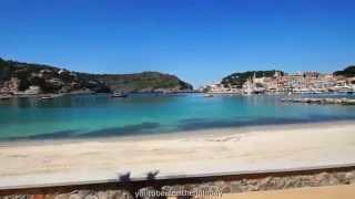 Teil 5  Mallorca Strassenbahn  Strassen Bimmelbahn von der Stadt Soller zum Hafen Soller