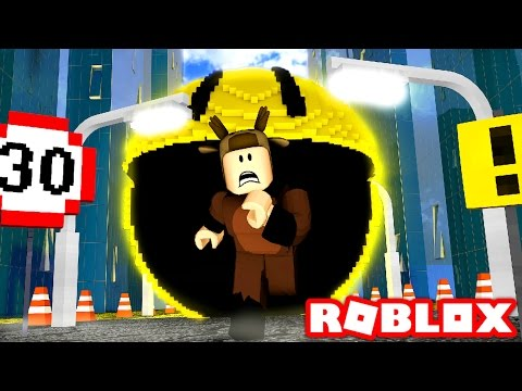 PACMAN EATS THE WORLD IN ROBLOX!