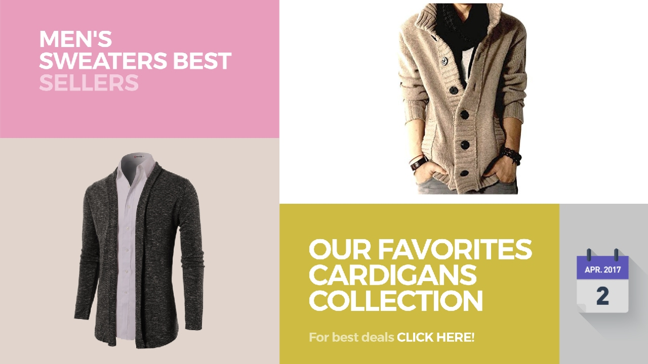 Our Favorites Cardigans Collection Men's Sweaters Best Sellers ...