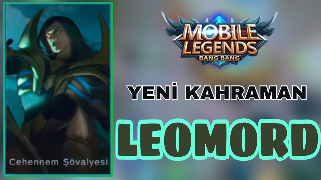 mobile legends- yeni kahraman leomord skiller-oynanış