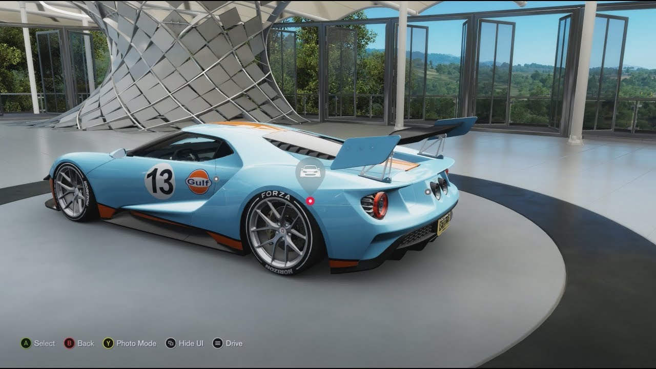 Forza Horizon  Creating Gulf Logo And Livery On Ford Gt He