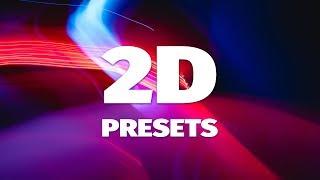 AE Plugins 2D-Animation Presets von AEJuice