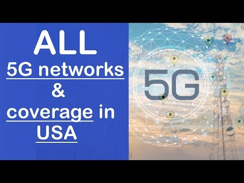 All 5G Cellphone Networks And Coverage In USA (Verizon, Sprint, T-Mobile & AT&t)