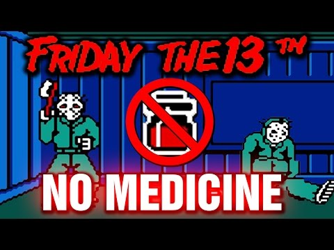 Friday the 13th No Medicine Playthrough Walkthrough Commentary Friday13 NES Video Game Longplay