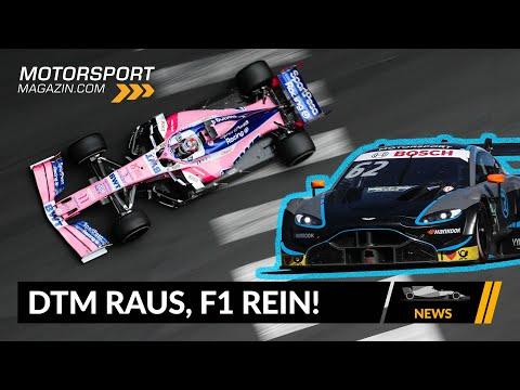 Aston Martin: DTM raus, F1 rein! - Formel 1 2020 (News)
