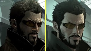 Deus Ex: Mankind Divided E3 2015 vs PS4 Retail Graphics Comparison