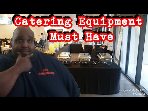 Proper Catering Equipment | TOP TEN THINGS YOU NEED TO START YOUR CATERING BUSINESS
